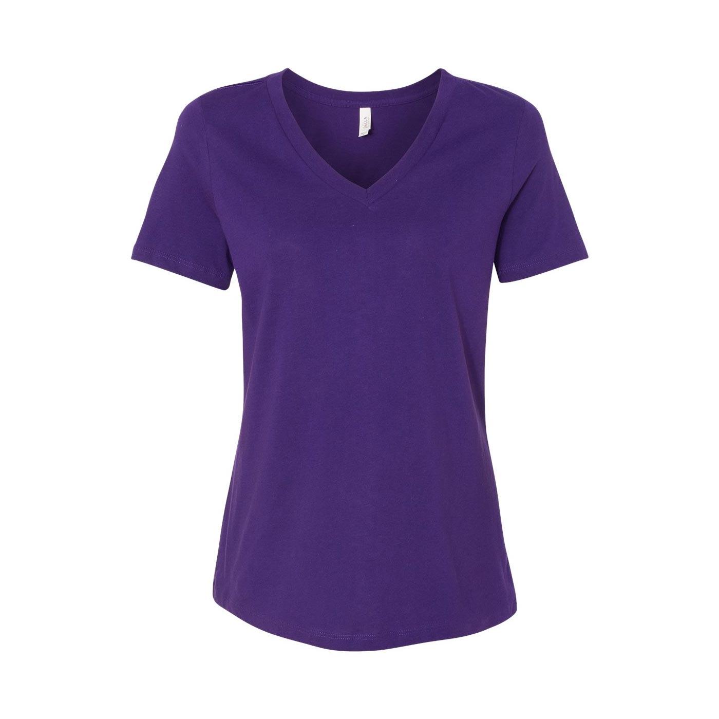 Bc vneck purple