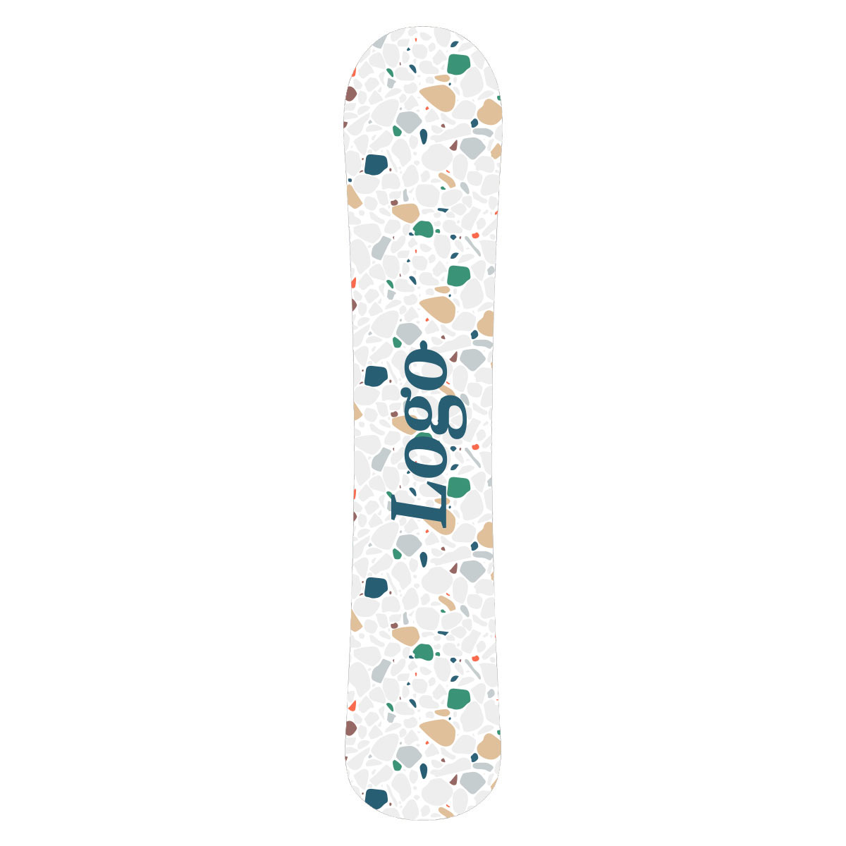 165505 custom snowboard
