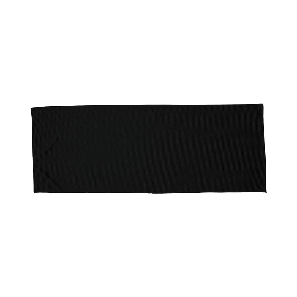 Black fitness alpine cooling towel