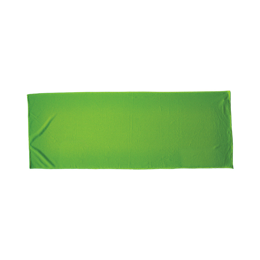 Green fitness alpine cooling towel