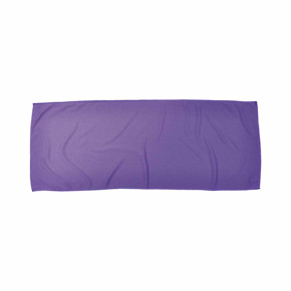 Purple fitness alpine cooling towel