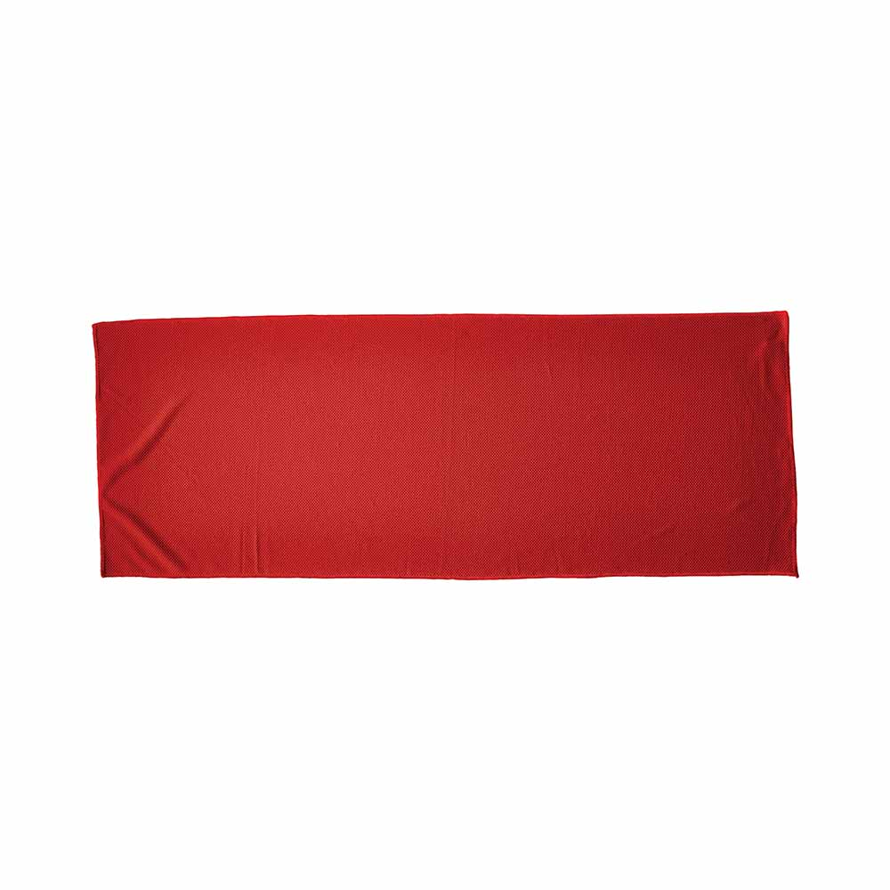 Red fitness alpine cooling towel