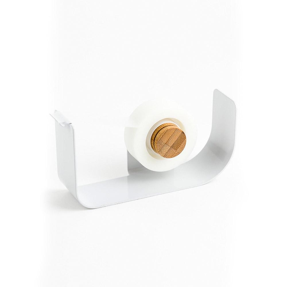 Gray metal tape disp