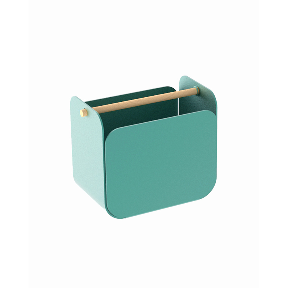 Pine metal pen holder