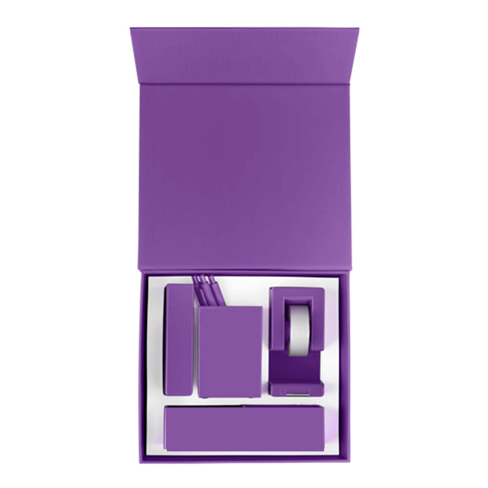 Purple desk set standard
