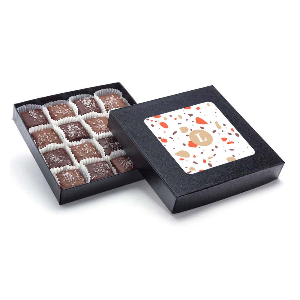 166844 handmade sea salt caramels box full color digital label