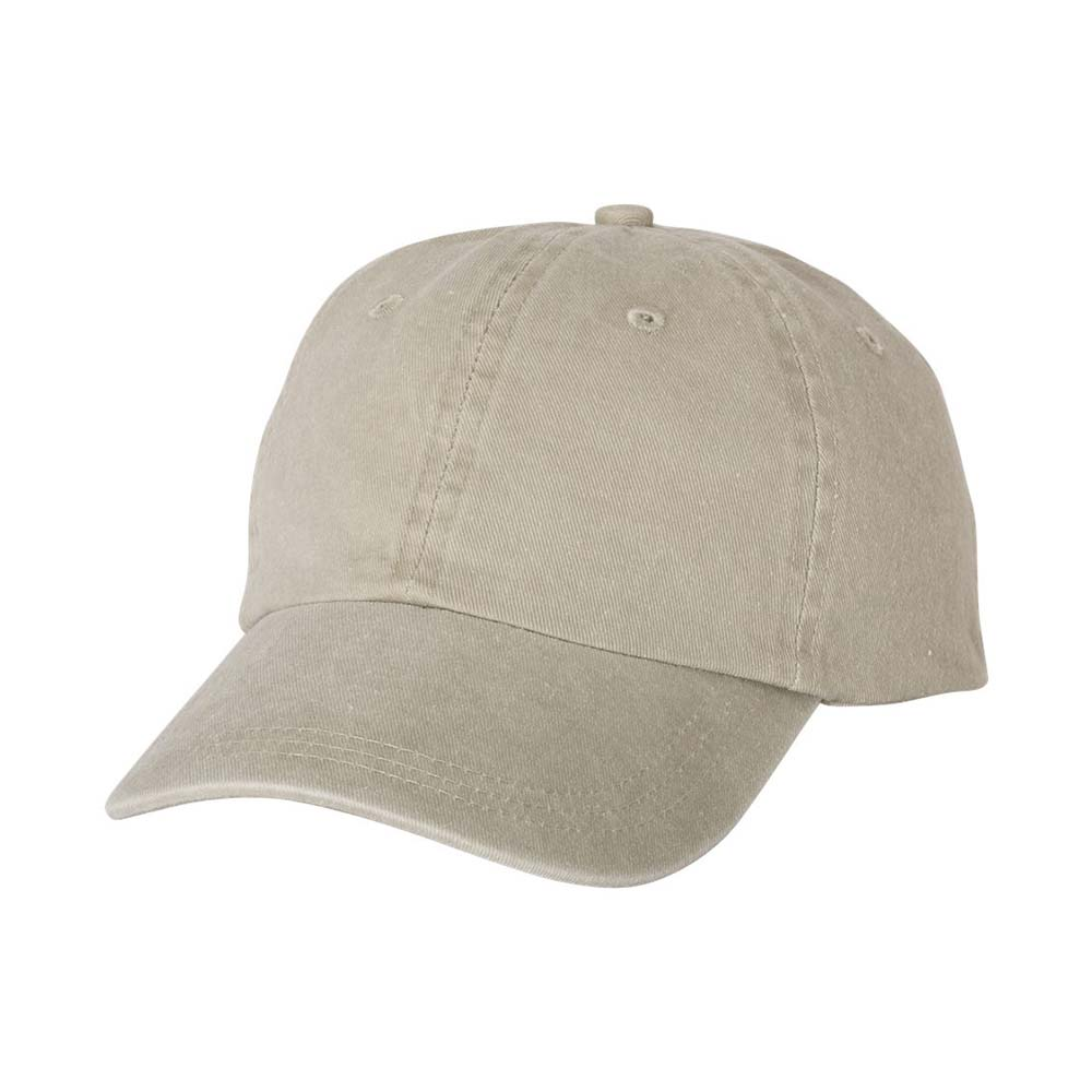 Sand green pigment dyed cap