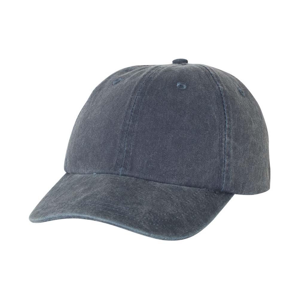 Navy pigment dyed cap