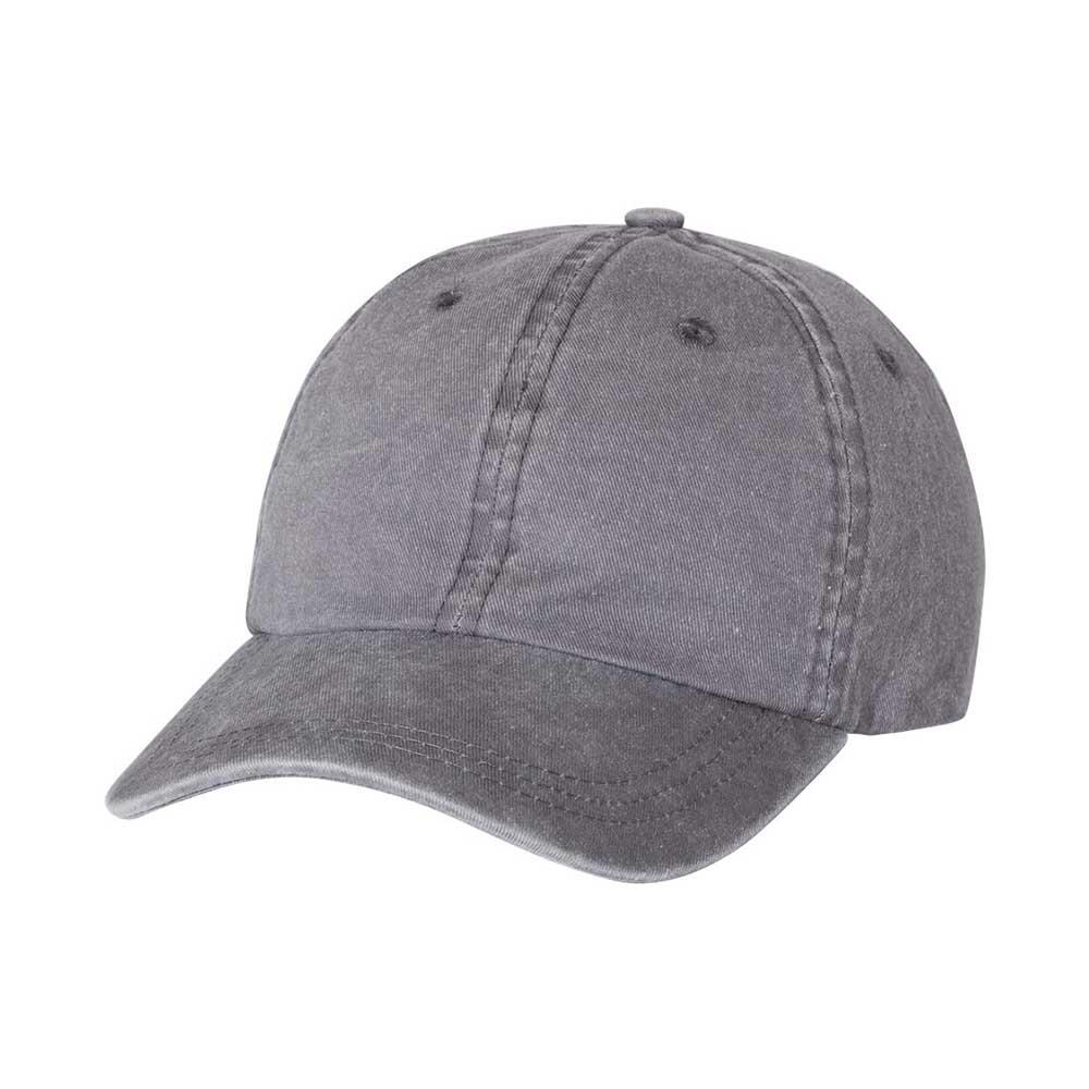 Gray pigment dyed cap