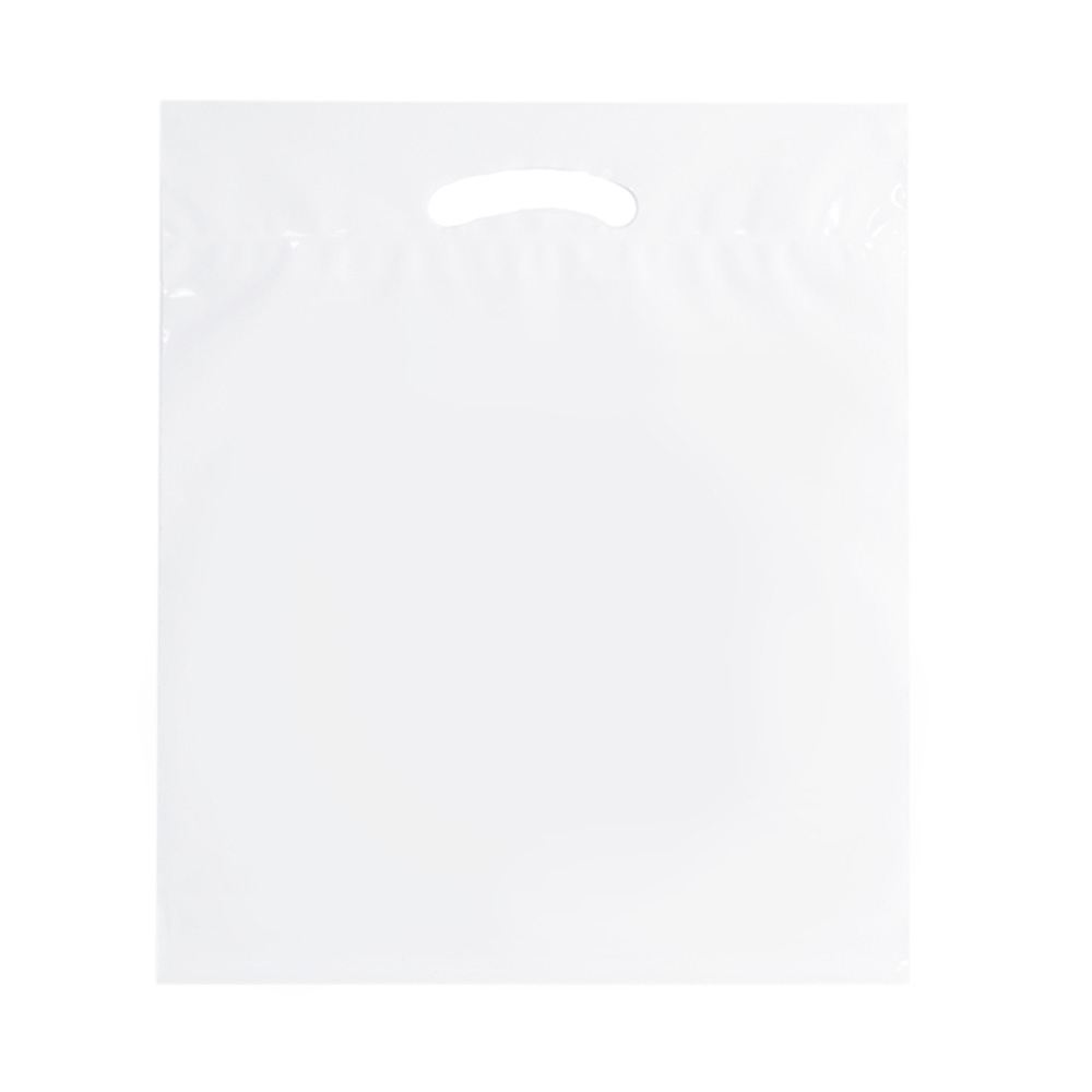 Clear 18x22 eco shoppping bag