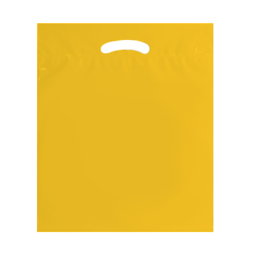 Yellow 18x22 eco shoppping bag