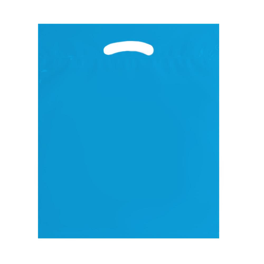 Blue 18x22 eco shoppping bag