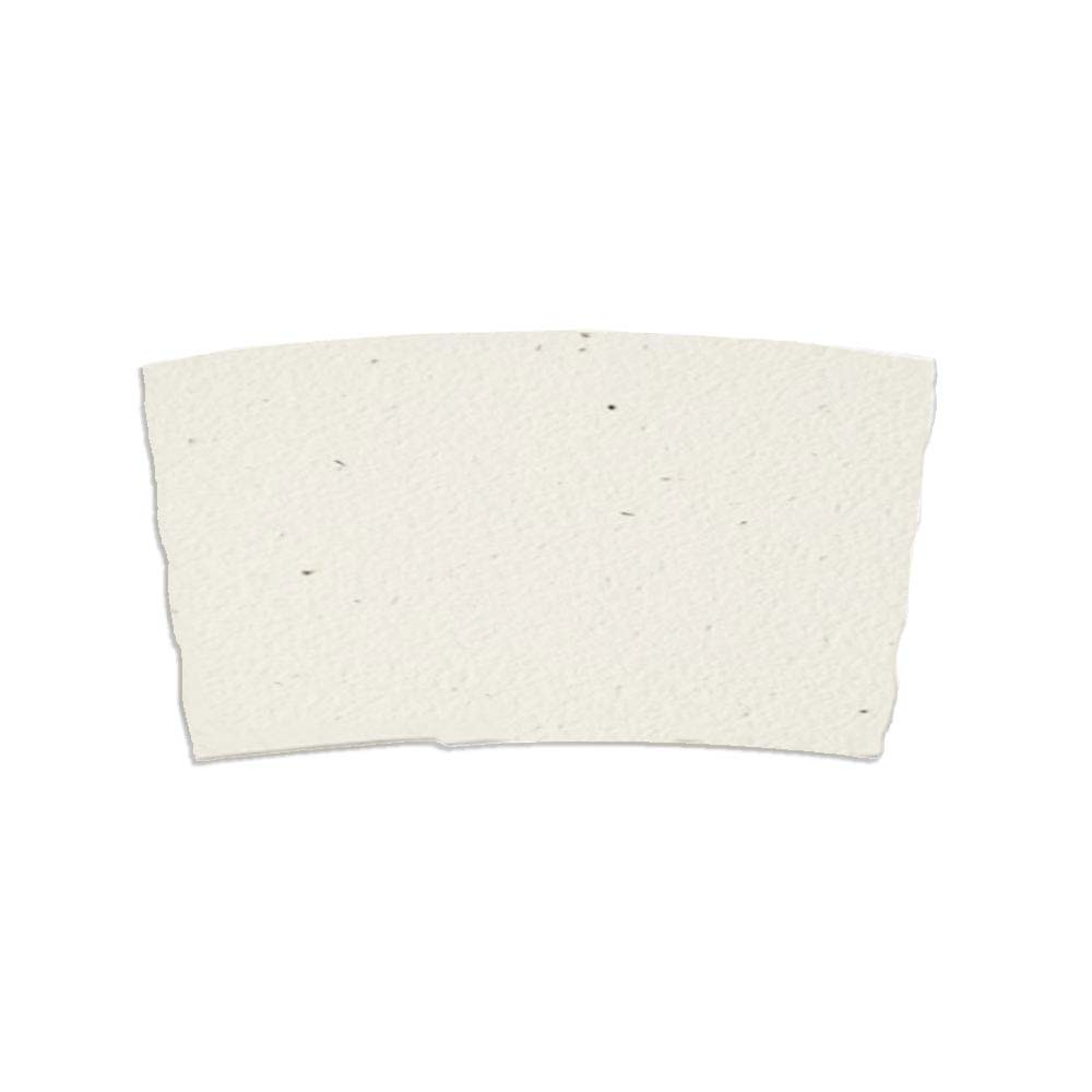 Ivory seed paper sleeve