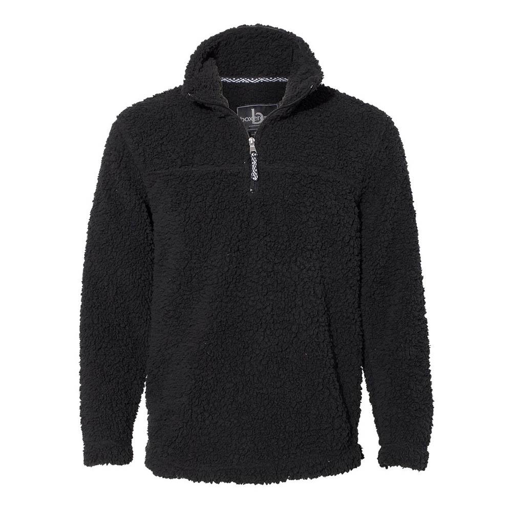 Black sherpa fleece