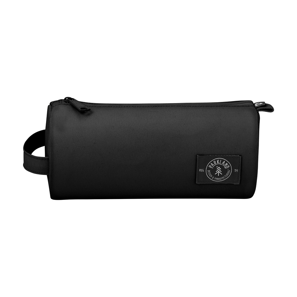 Black parkland travel pouch