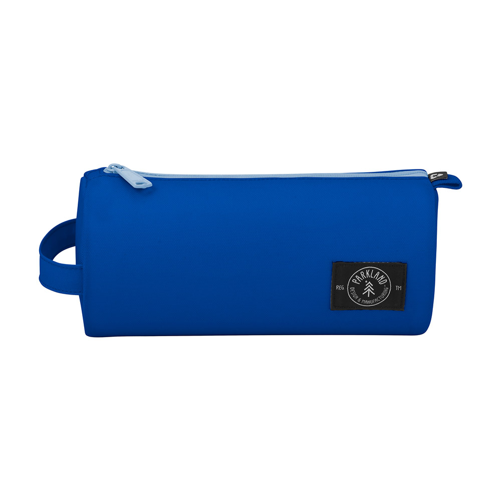 Blue parkland travel pouch