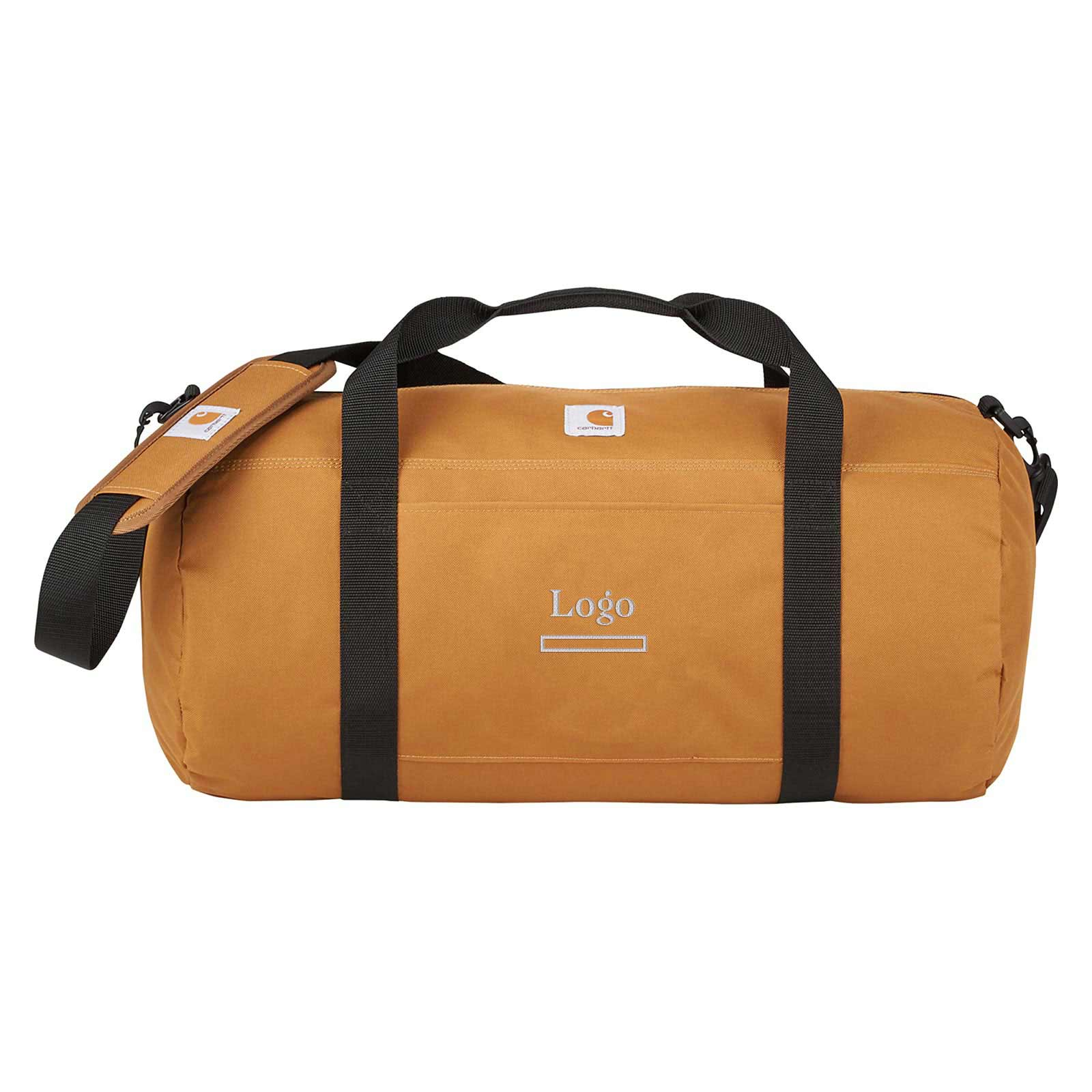 200177 20 packable duffel bag embroidered one location