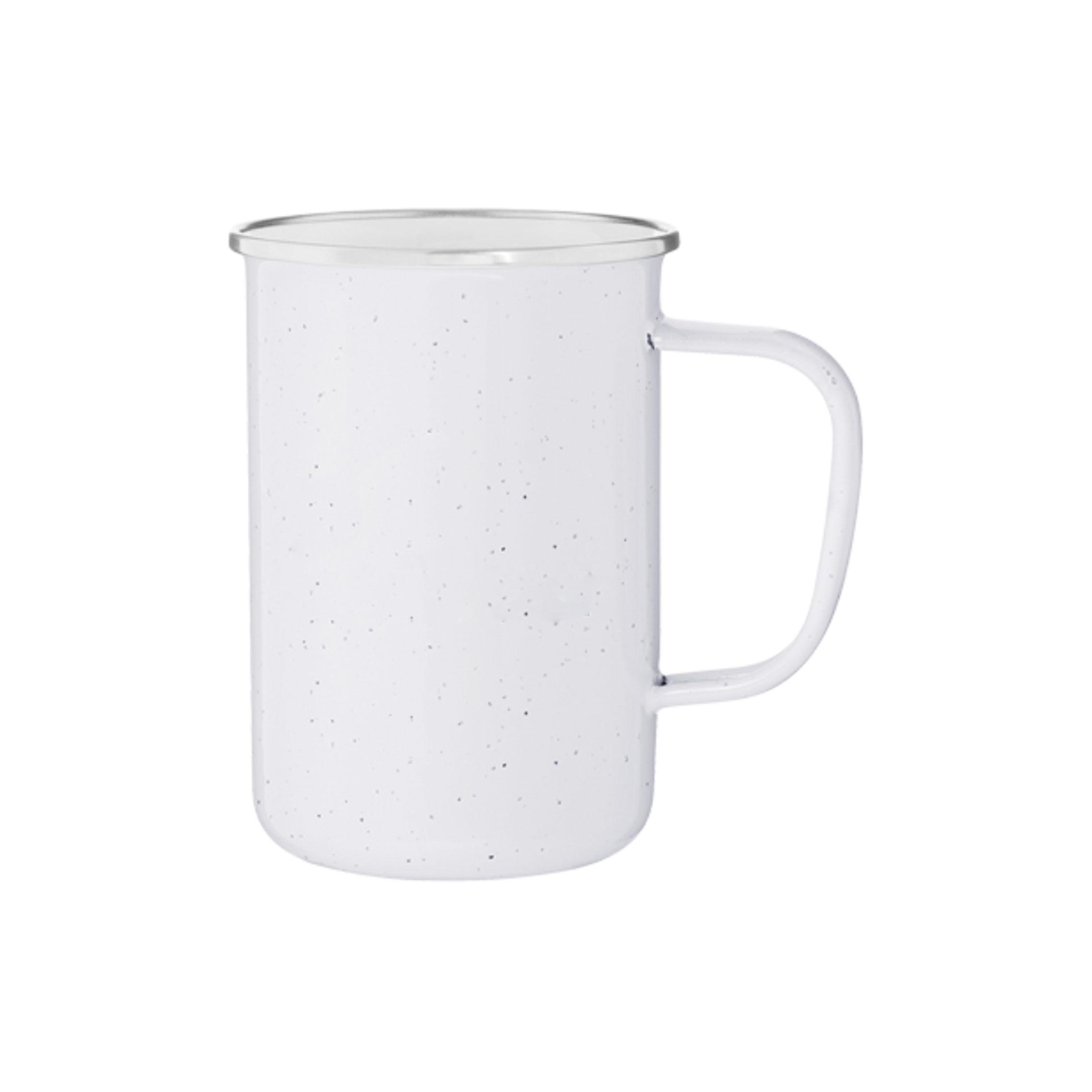White mug 22oz
