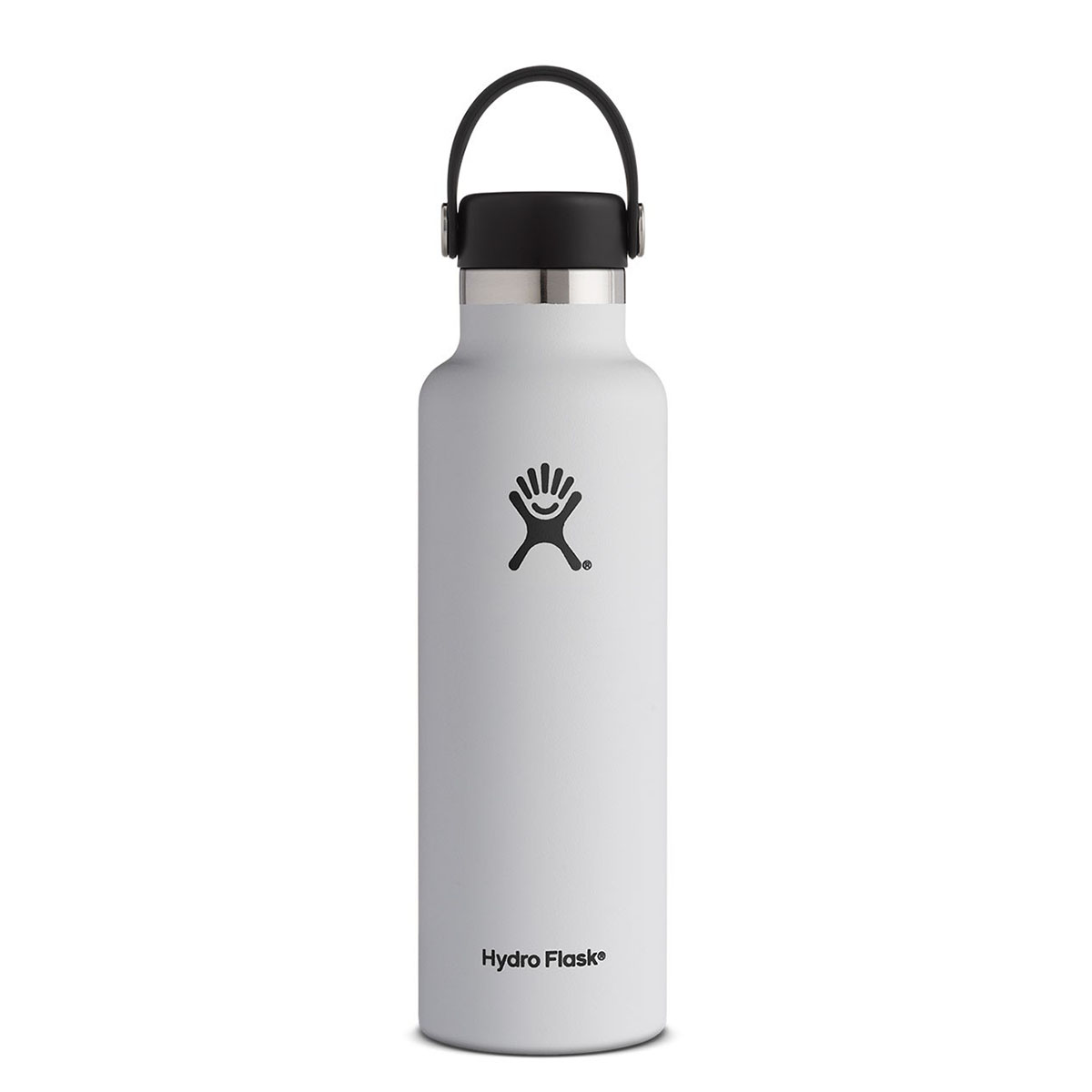 Iconicimprint hydroflask21ozwaterbottle white