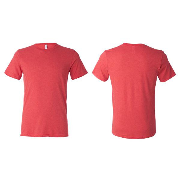 Red triblend b