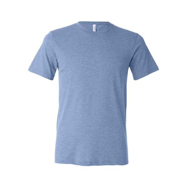 Blue heather triblend