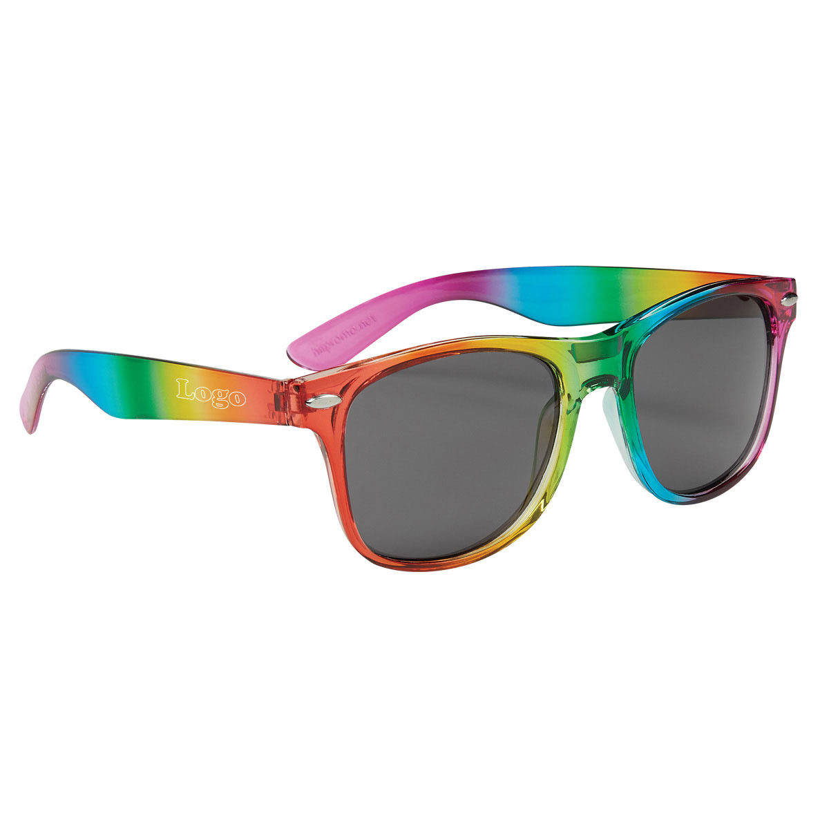 223990 rainbow boca sunglasses one color one location imprint