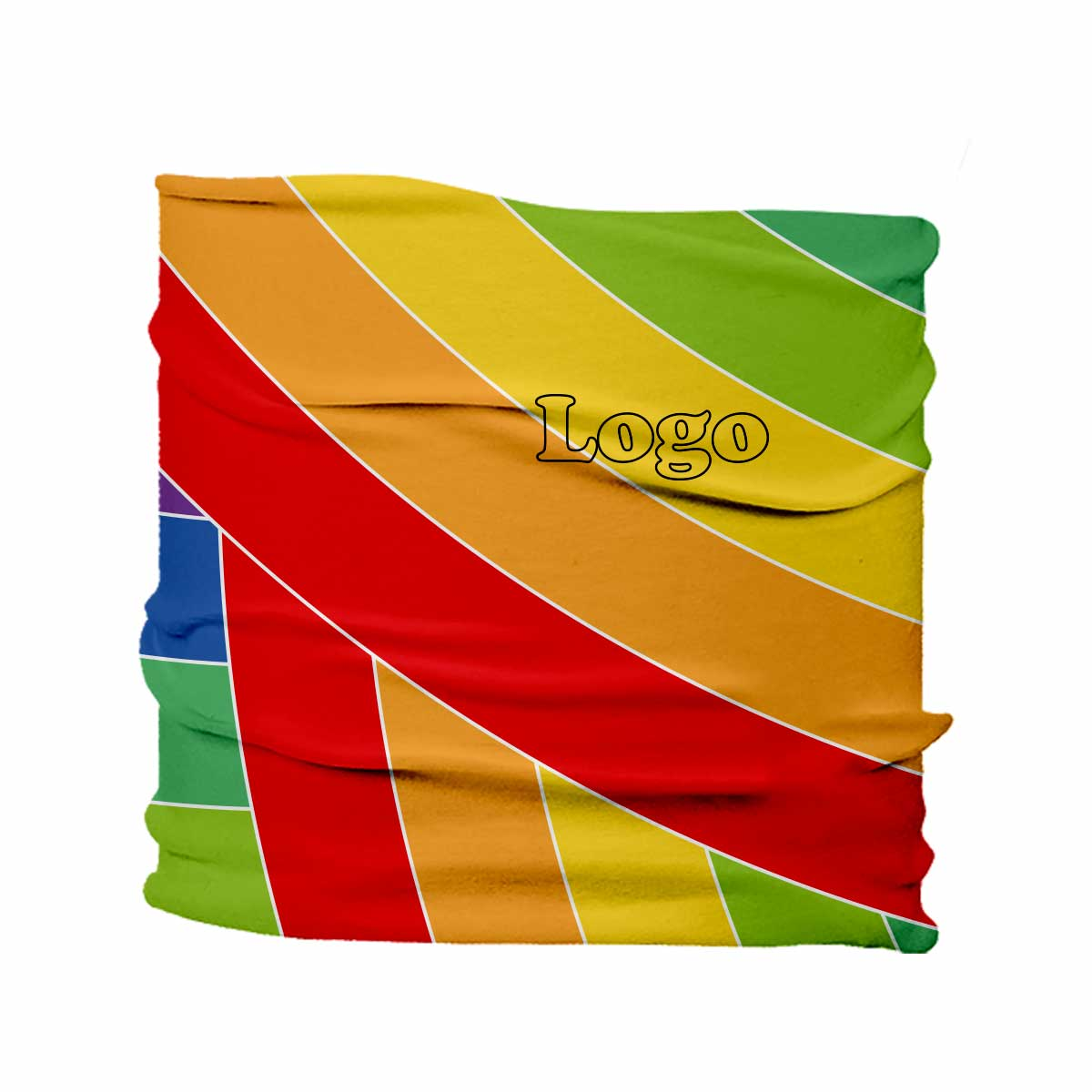 223978 flex head scarf full color imprint
