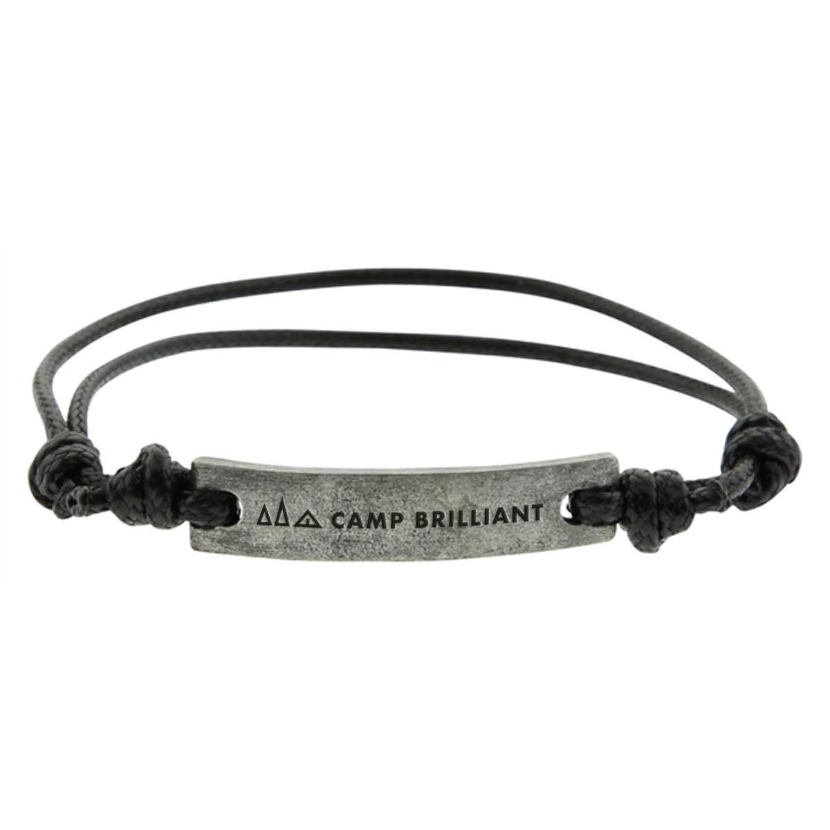 229233 friendship bracelet one color imprint or laser engraved one location