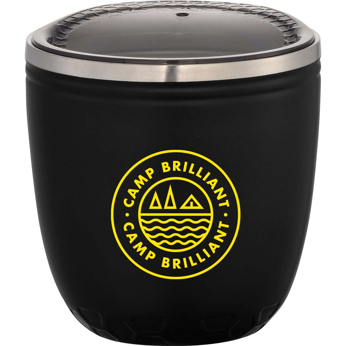 229570 hex insulated cup one color one location imprint or laser engraved