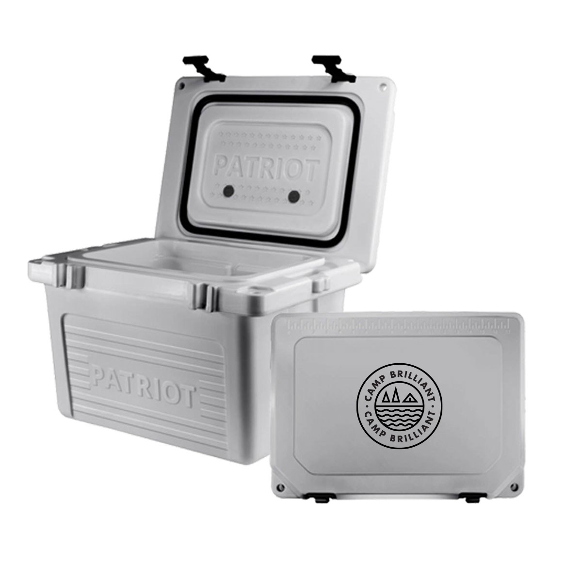 229228 20qt hard cooler one color one location imprint