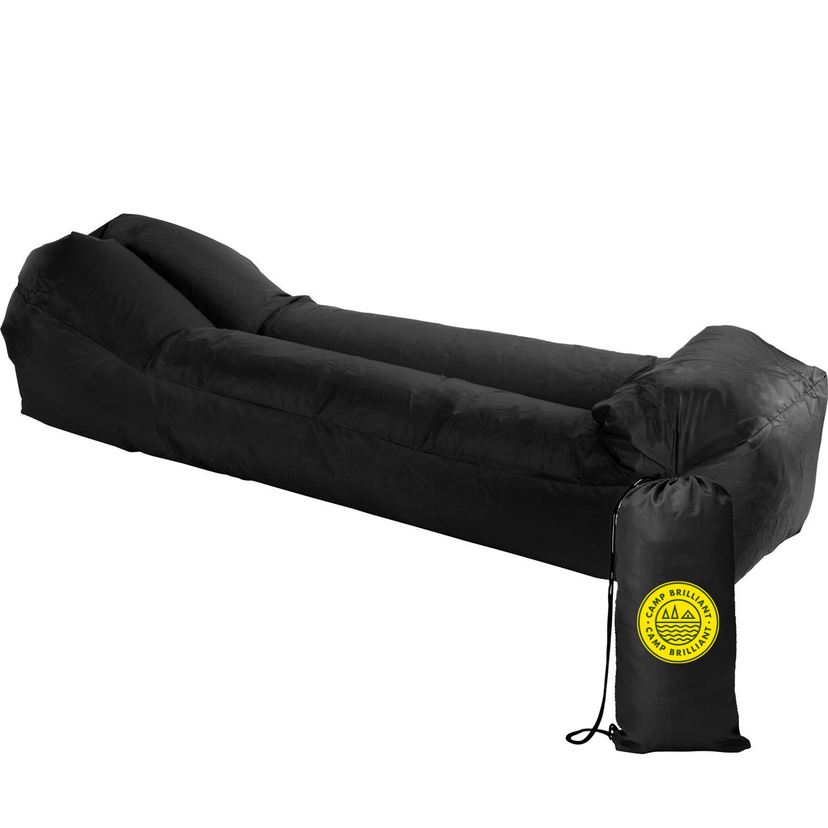 229131 easy inflate lounger two color one location imprint