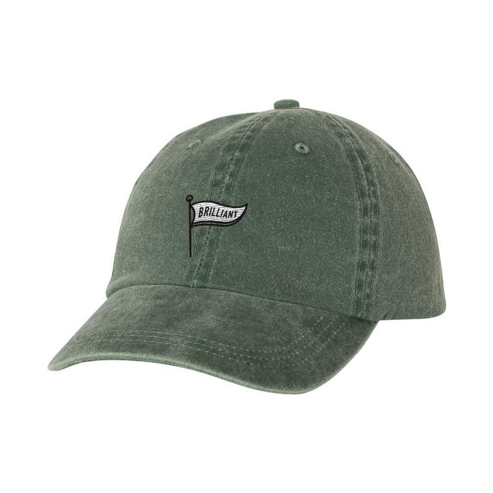 Dark green pigment dyed cap