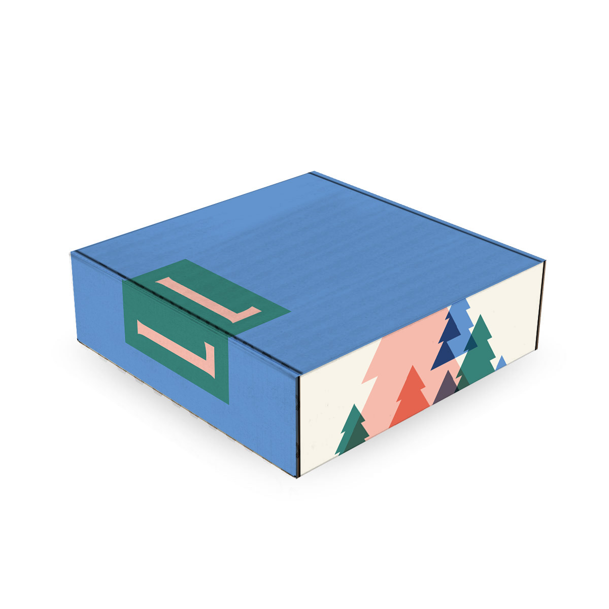 236106 custom mailer box 10 x 10 x 3 duplex full color inside and out