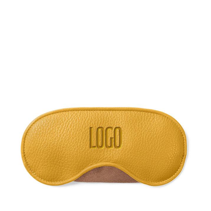 235248 classic leather eye mask deboss one location