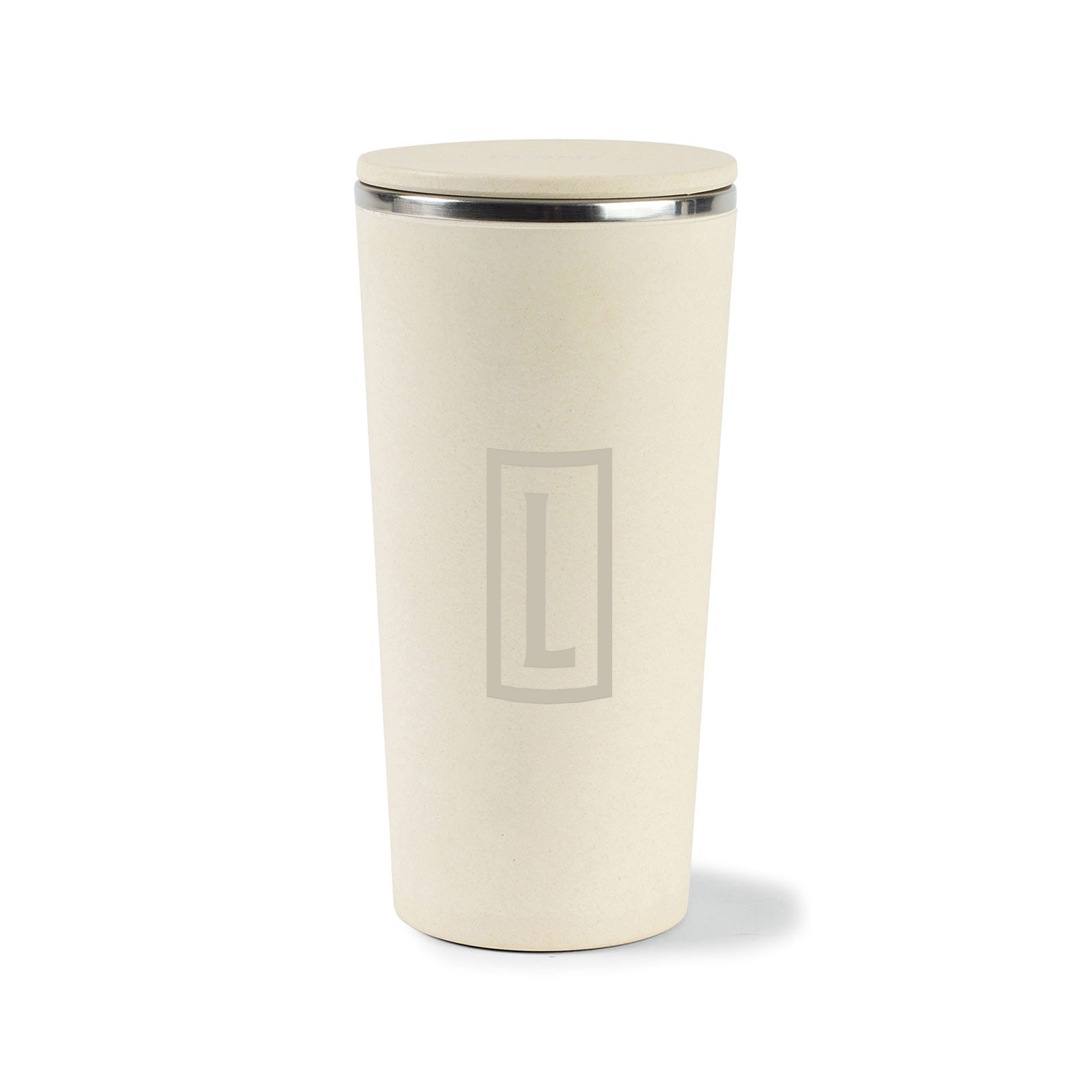 235252 bamboo tumbler one color one location imprint or laser engraved