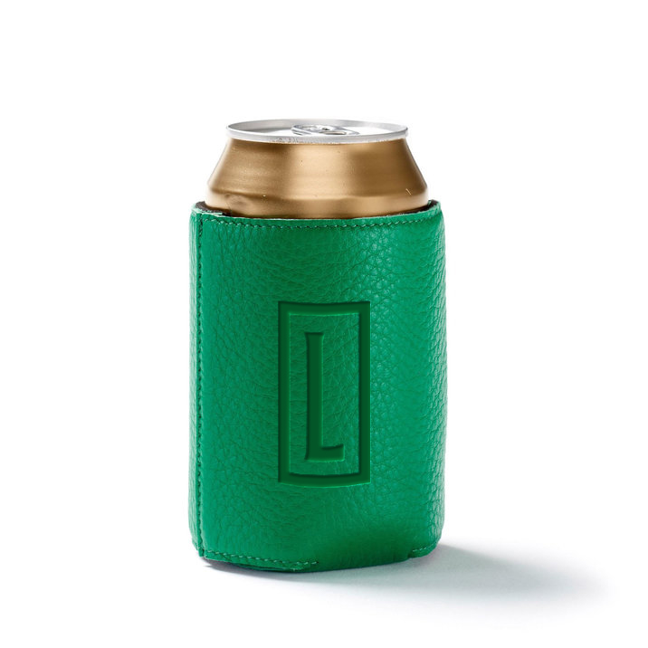 235247 timeless leather koozie deboss one location