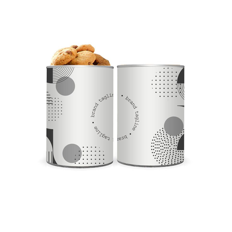 239673 4 mini treat canister full color canister wrap