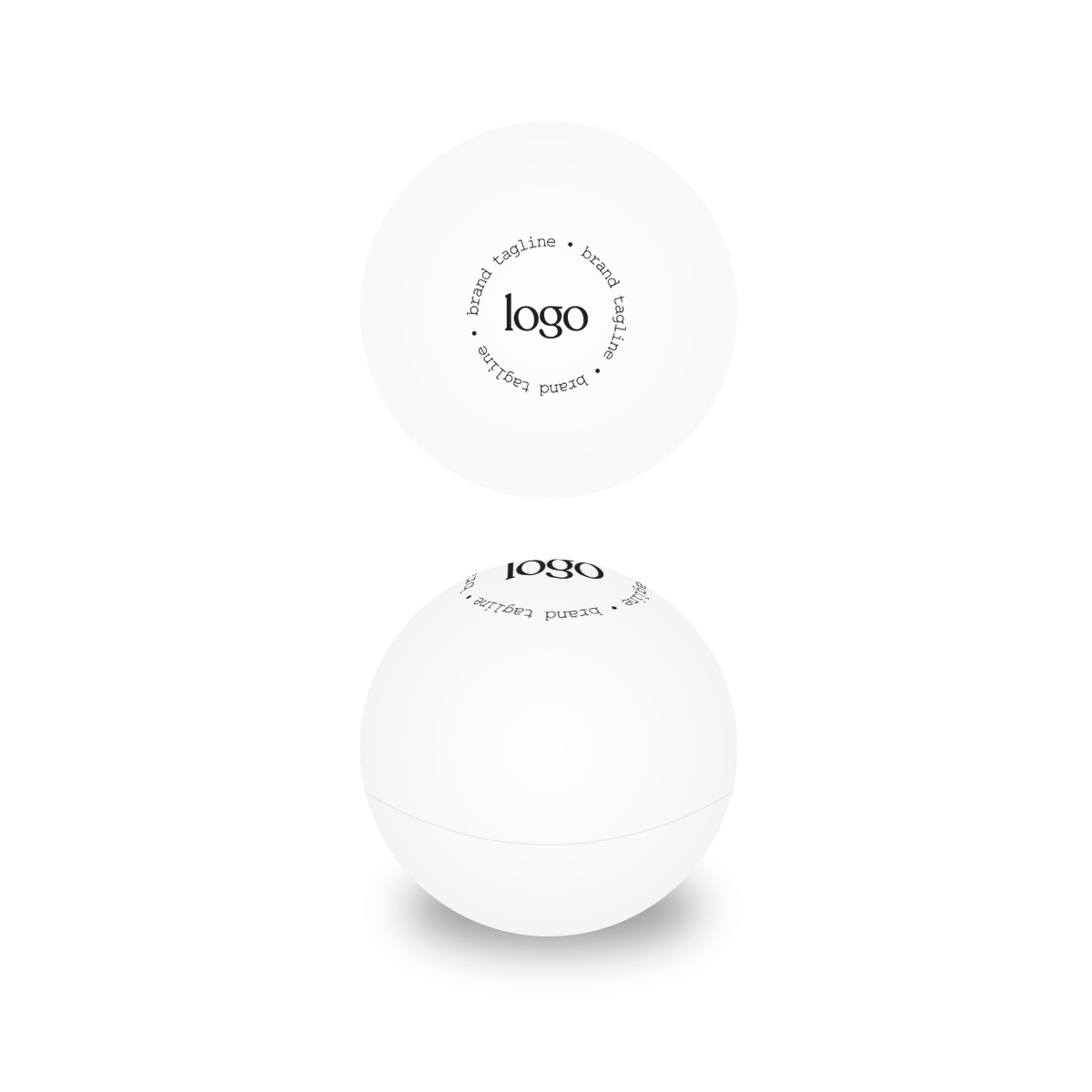 243688 natural lip balm ball one color one location screen