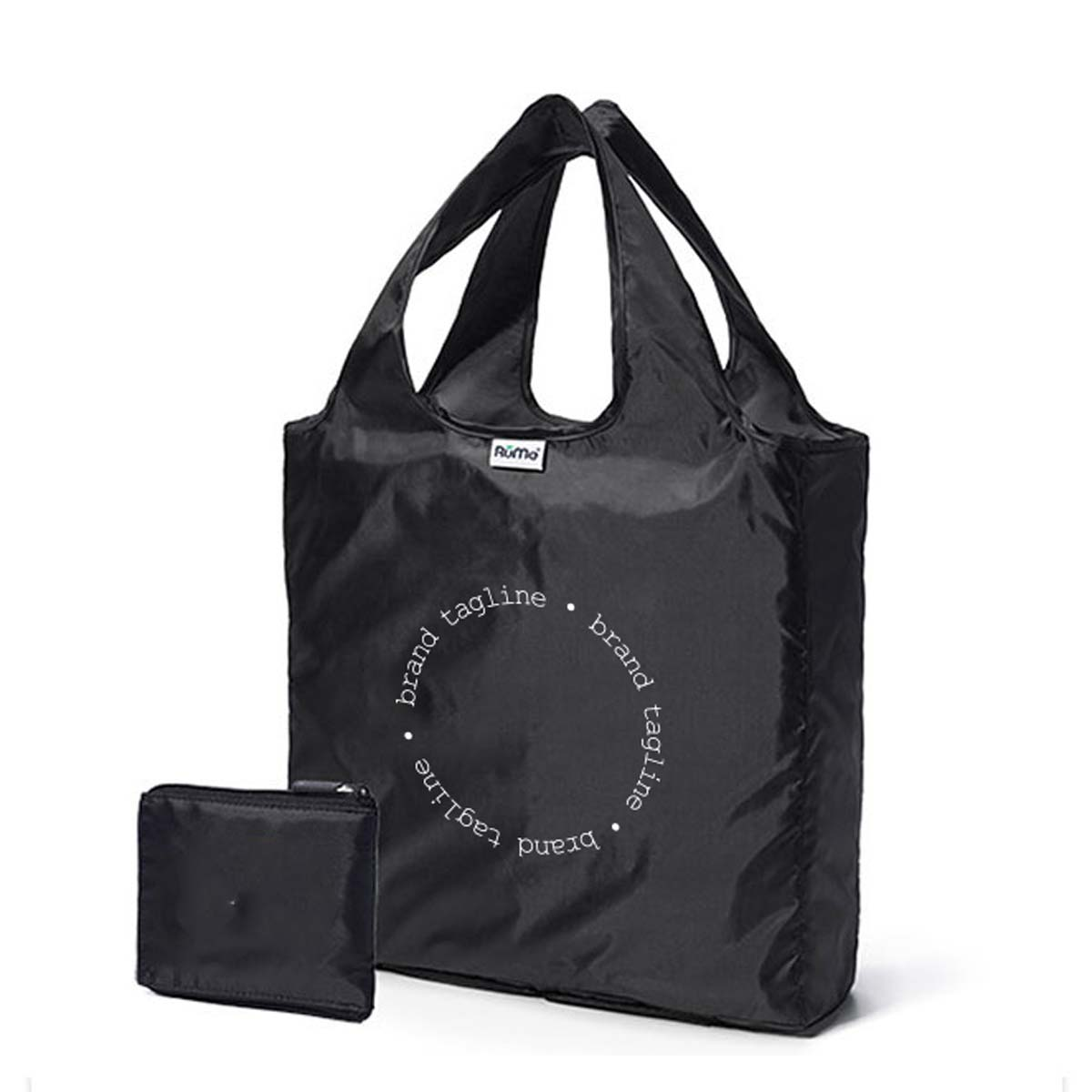 243002 travel folding tote one location full color imprint