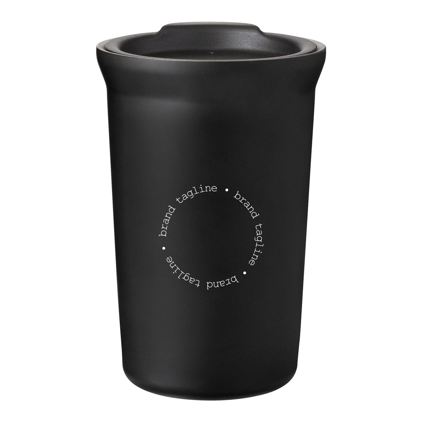 239660 commuter tumbler 12 oz one color imprint