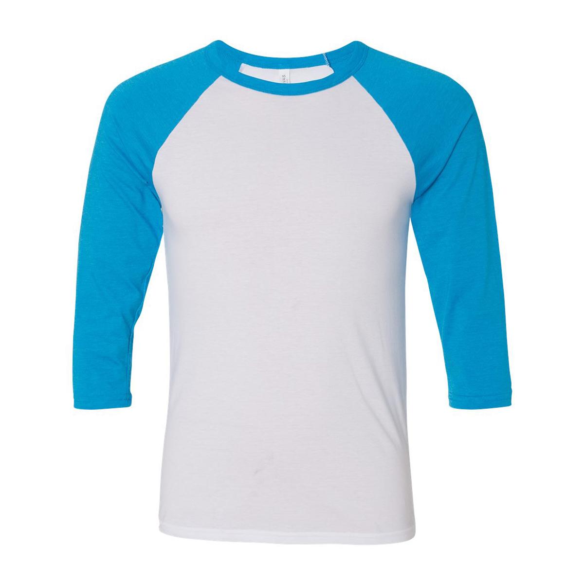 White neon blue