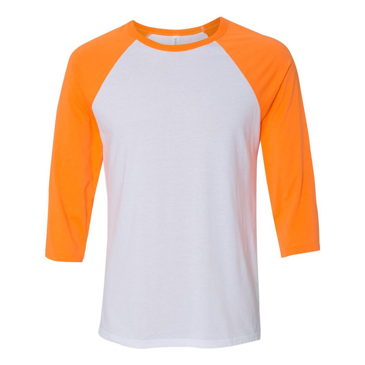 White neon orange