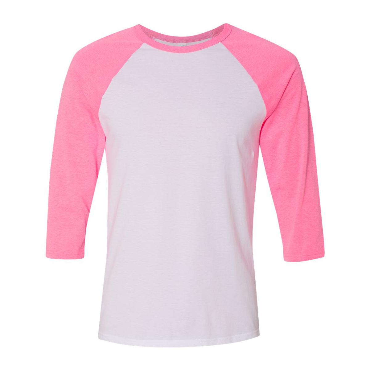 White neon pink
