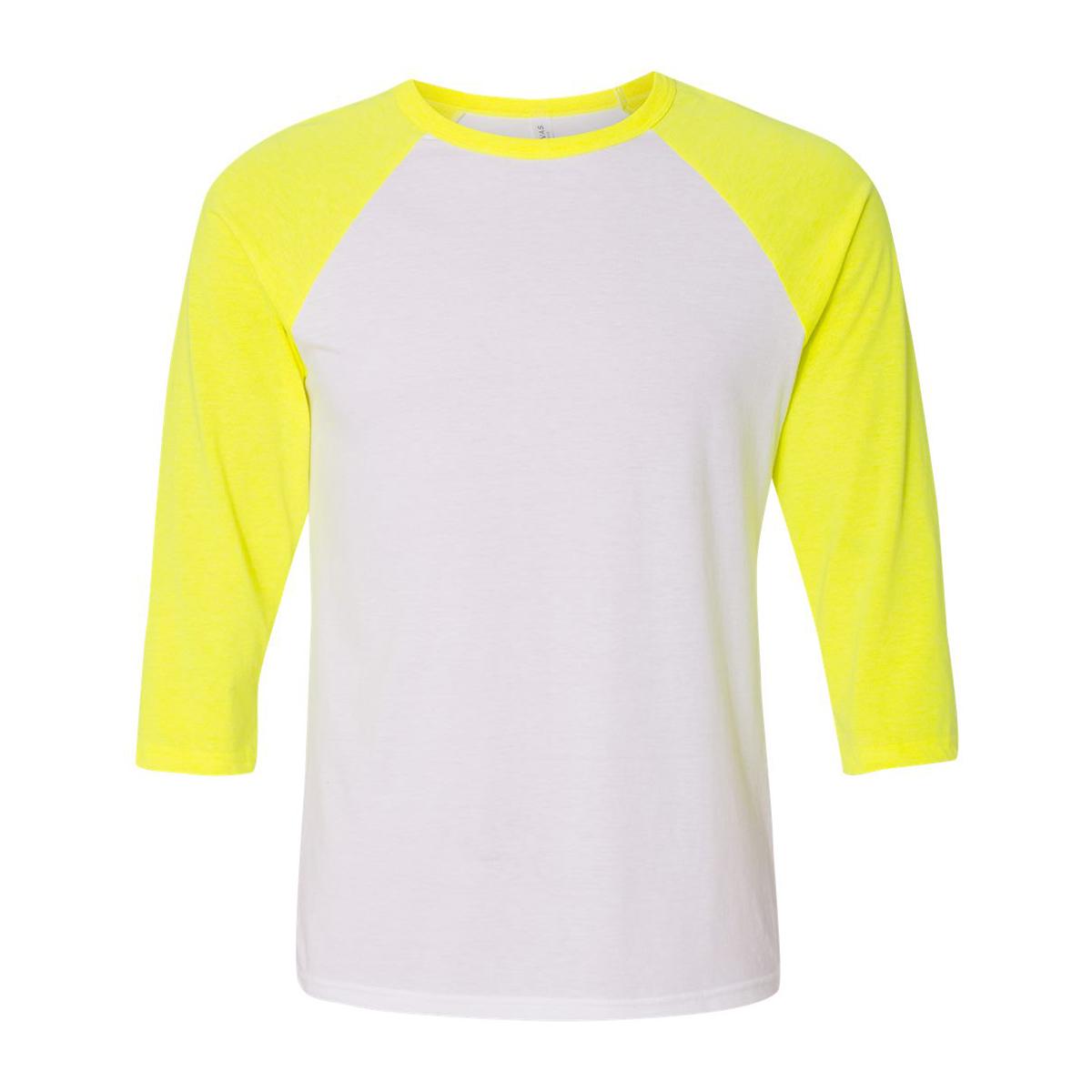 White neon yellow