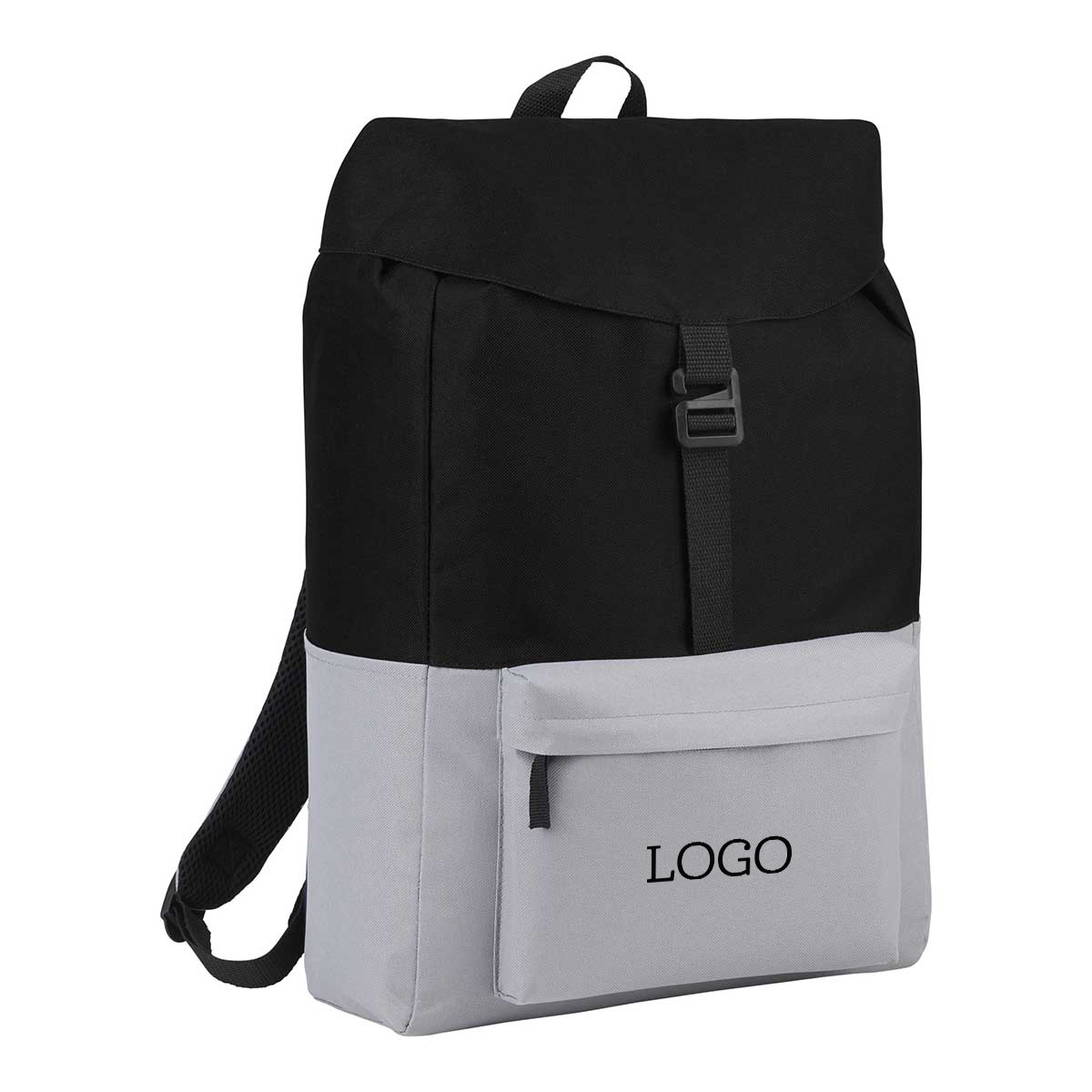 250766 ash backpack one color imprint one location