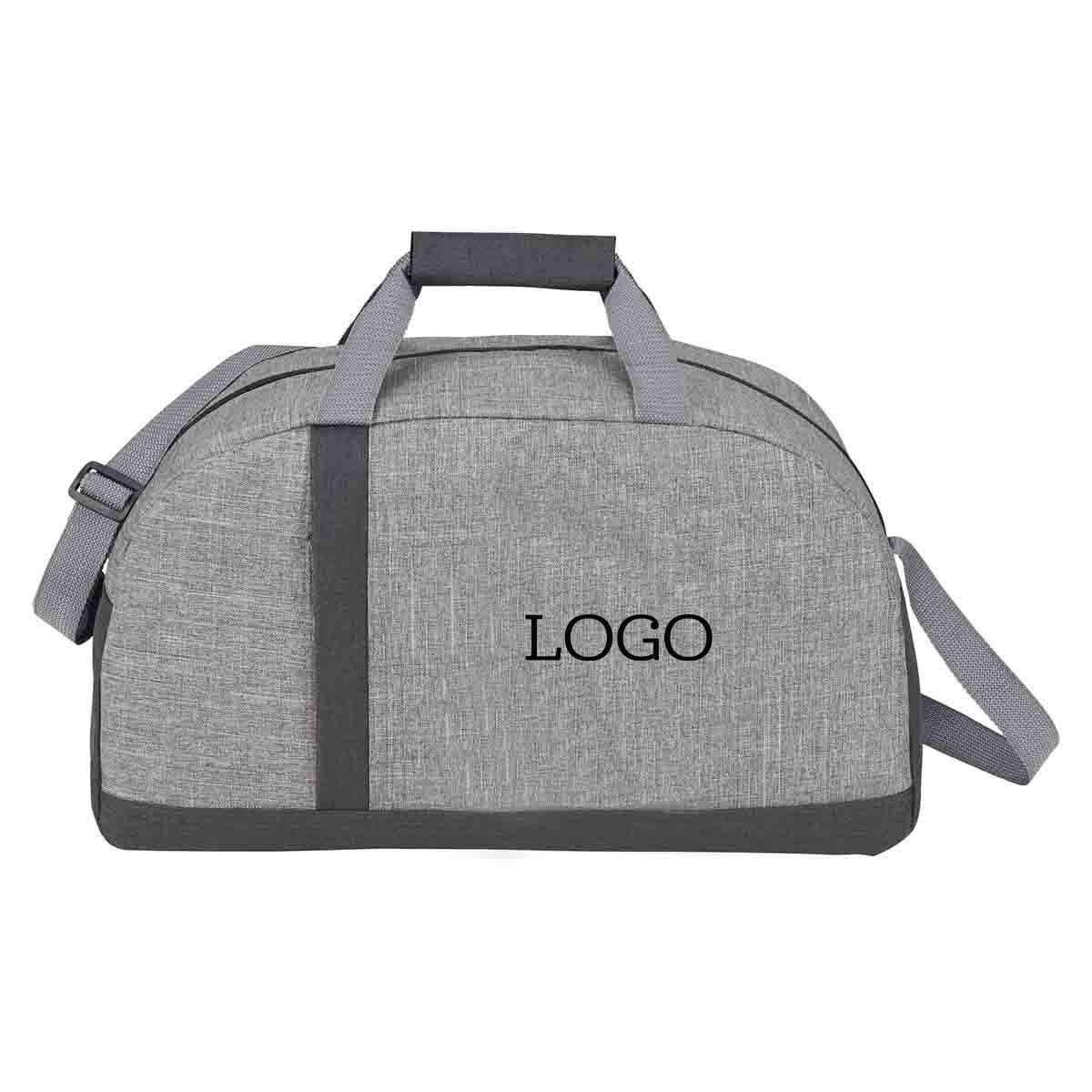 250682 merit recycled duffel one color imprint one location