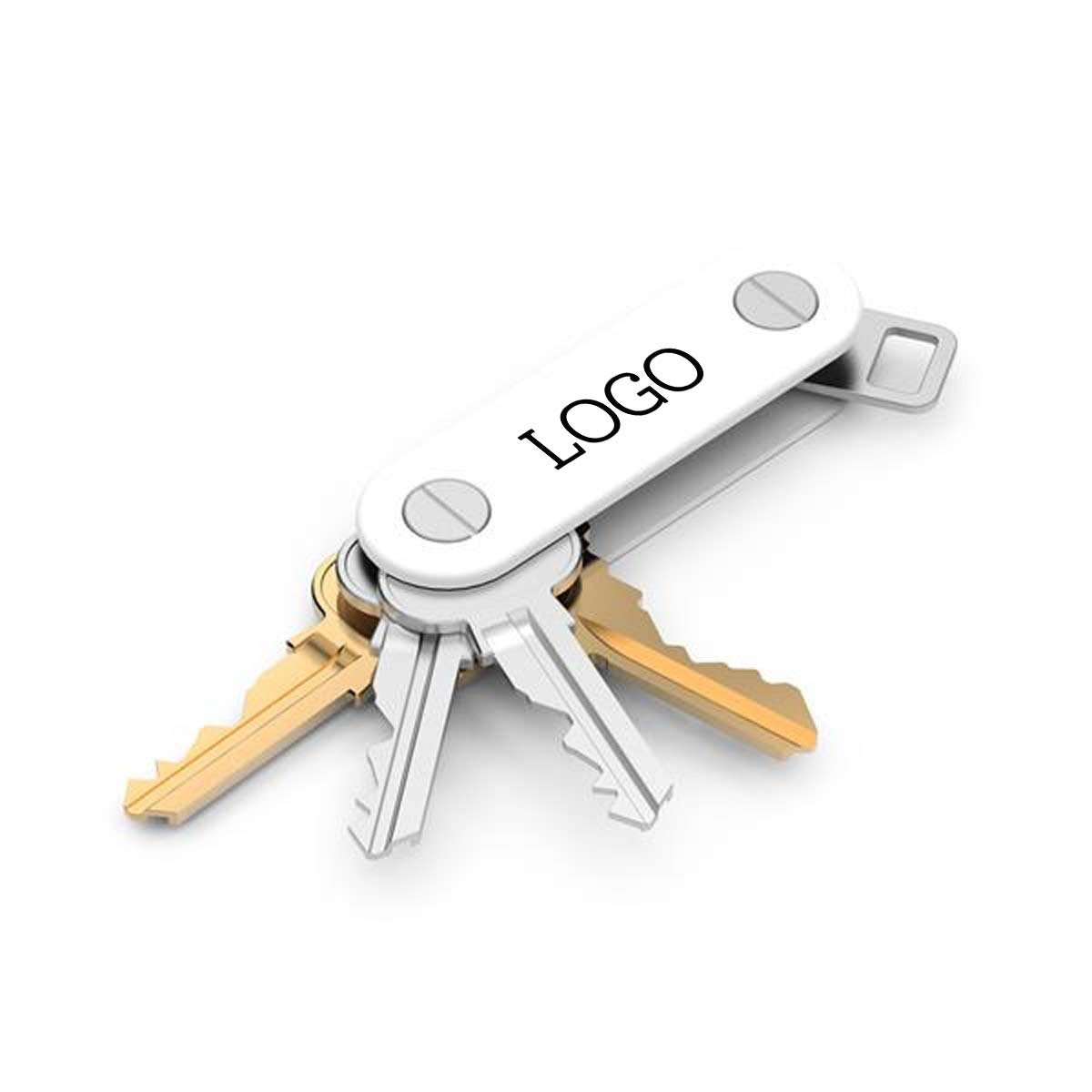 250842 key organizer full color imprint one location