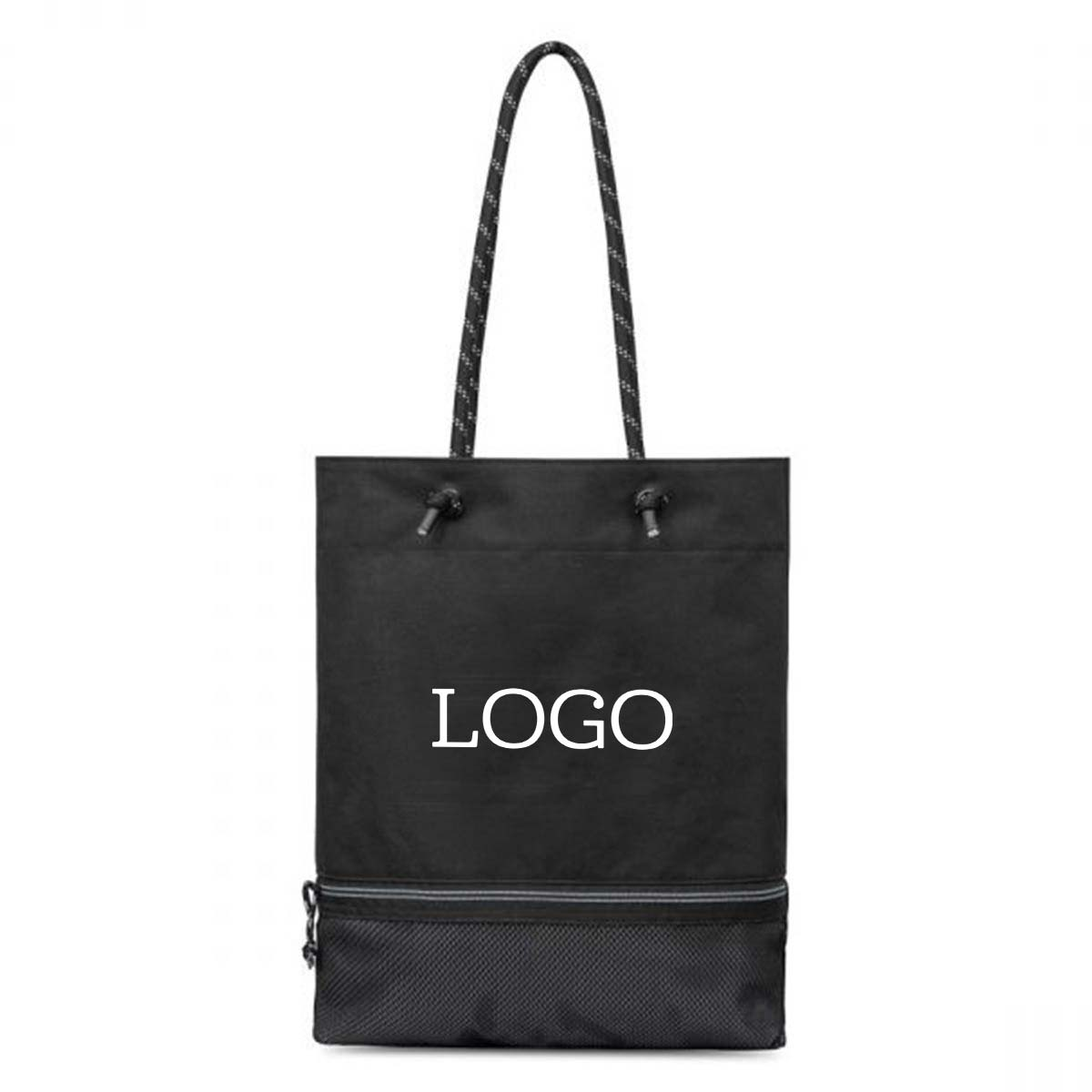 250843 odell tote one color imprint one location