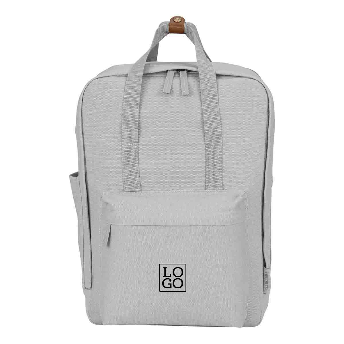 250683 evren backpack one color imprint one location