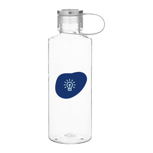 269346 connector 25oz water bottle two color one location imprint